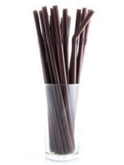 Flexible Straw Brown